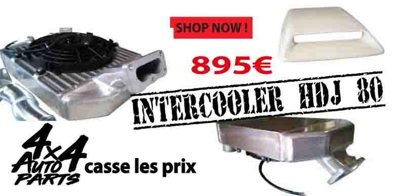 intercooler hdj 80